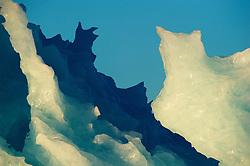 Blue Ice berg, Spitsbergen, Svalbard