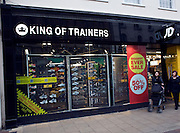 King of Trainers shop, Ipswich