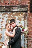 Wedding pictures taken behind the Grand Ballroom and Cornerstone Commons in Butler PA.