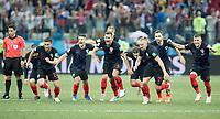 01.07.2018, Nizny Nowogrod, pilka nozna, mistrzostwa swiata, Chorwacja - Dania, N/z Radosc reprezentacji Chorwacji, fot. Tomasz Jastrzebowski / Foto Olimpik ----- 01.07.2018, Nizhny Novgorod, football, FIFA World Cup WM Weltmeisterschaft Fussball 2018, Croatia - Denmark, In the picture: Team Croatia celebration fot. Tomasz Jastrzebowski / Foto Olimpik / NEWSPIX.PL --- Newspix.pl FRANCE OUT! PUBLICATIONxNOTxINxPOL 20180701toja9258