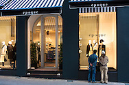 LUX, Luxembourg, city of Luxembourg, fashion store at the Rue Philippe II.<br /> <br /> LUX, Luxemburg, Stadt Luxemburg,  Modegeschaeft in der Rue Philippe II.