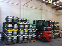Left hand unit - Cold room to store the casks at temperature.<br />
