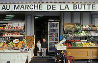 The shop which was used in Amelie Poulain, Montmartre, Paris, France. Kodachrome