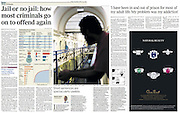The Times Newspaper, British Prisons. 2010