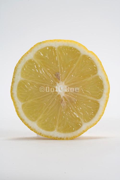 cross cut lemon