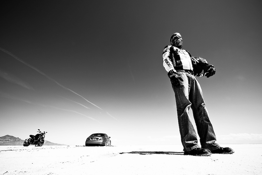 Last Man Standing<br /> Boneville Salt Lake Flat, <br /> Utah, USA