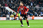Charlie Daniels (11) of AFC Bournemouth during the Premier League match between Bournemouth and West Bromwich Albion at the Vitality Stadium, Bournemouth, England on 17 March 2018. Picture by Graham Hunt.