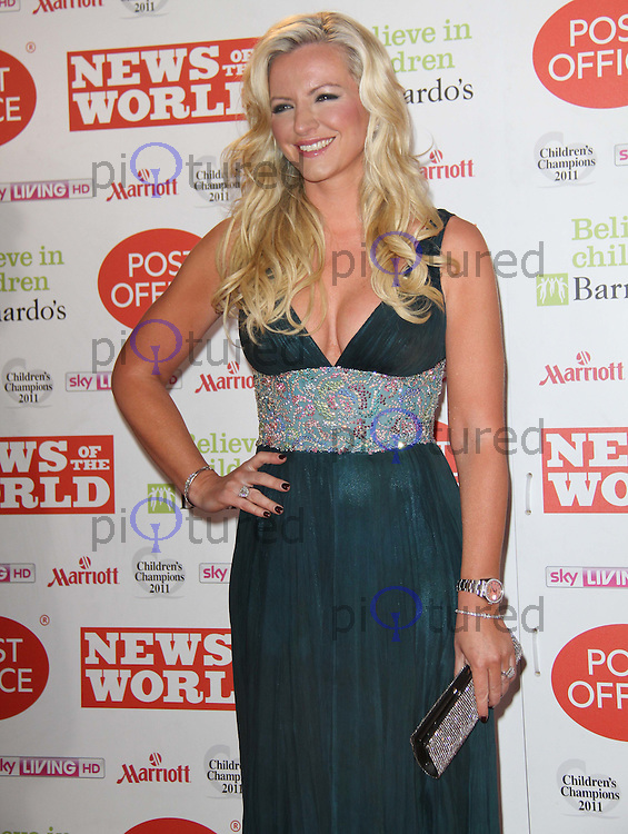 Michelle Mone News Of The World Children's Champions, Grosvenor House Hotel, Park Lane, London, UK, 30 March 2011:  Contact: Rich@Piqtured.com +44(0)7941 079620 (Picture by Richard Goldschmidt)