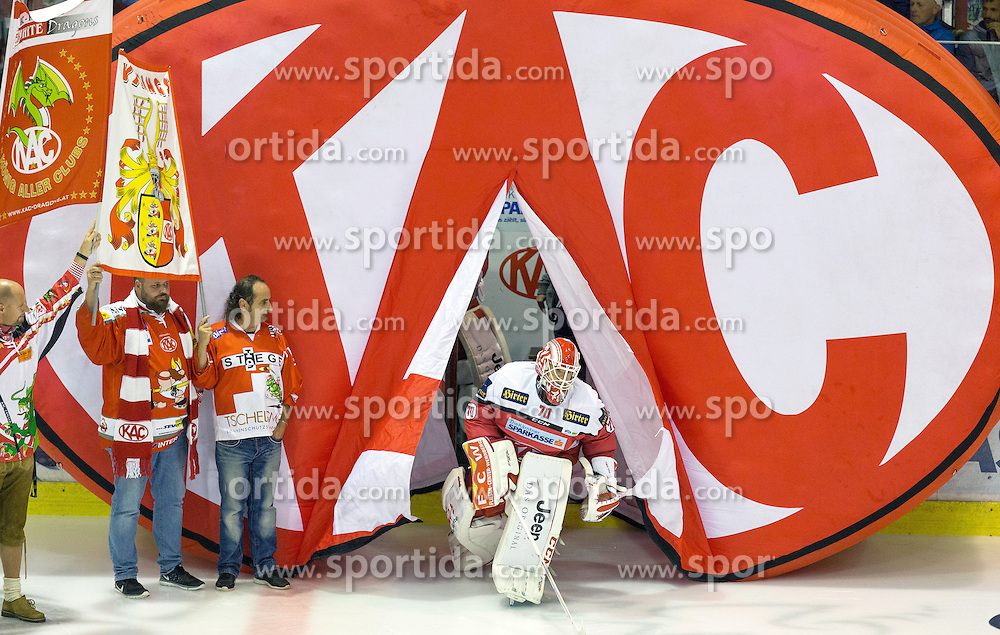 16.09.2016, Stadthalle, Klagenfurt, AUT, EBEL, EC KAC vs Fehervar AV 19, 1. Runde, im Bild Tomáš Duba (EC KAC, #70) // during the Erste Bank Icehockey League 1st Round match between EC KAC and Fehervar AV 19 at the Stadthalle in Klagenfurt, Austria on 2016/09/16. EXPA Pictures © 2016, PhotoCredit: EXPA/ Gert Steinthaler