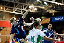Neli Irman of Slovenia at Women European Championships Qualifying handball match between National Teams of Slovenia and Belarus, on October 17, 2009, in Kodeljevo, Ljubljana.  (Photo by Vid Ponikvar / Sportida)