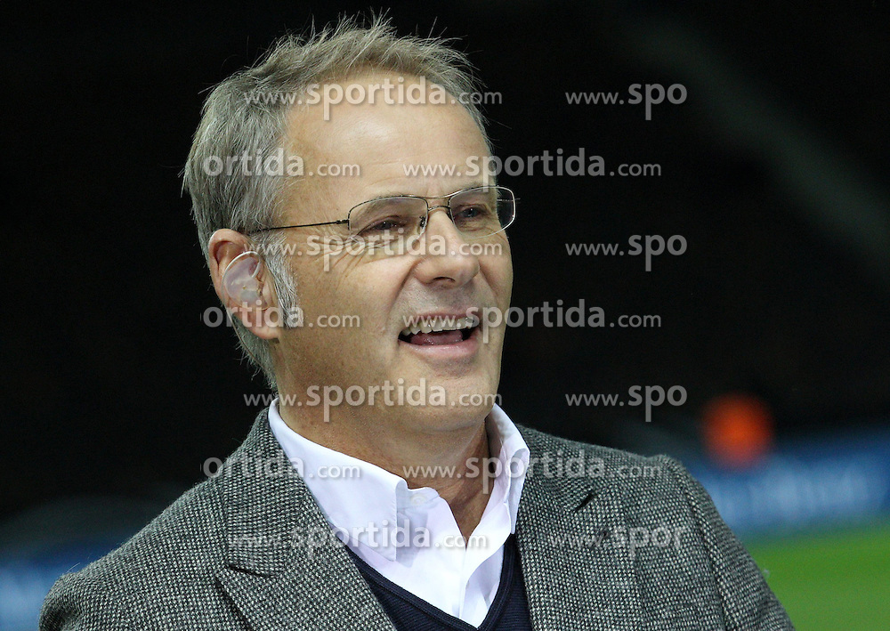 16.10.2012, Olympia Stadion, Berlin, GER, FIFA WM Qualifikation, Deutschland vs Schweden, im Bild Reinhold Beckmann // during the FIFA World Cup Qualifier Match between Germany and Sweden at the Olympic Stadium, Berlin, Germany on 2012/10/16. EXPA Pictures © 2012, PhotoCredit: EXPA/ Eibner/ Eckhard Eibner..***** ATTENTION - OUT OF GER *****
