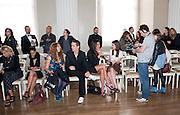 JANICE DICKINSON,  Julian Macdonald fashion show. Banqueting House. London. 19 September 2010. -DO NOT ARCHIVE-© Copyright Photograph by Dafydd Jones. 248 Clapham Rd. London SW9 0PZ. Tel 0207 820 0771. www.dafjones.com.