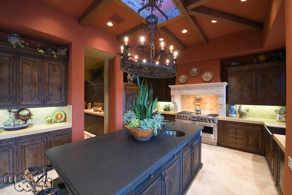 Granite worktop in Palm Springs kitchen