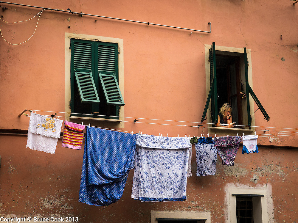 Laundry in Vernazza