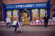 The Works discount shop, Ipswich