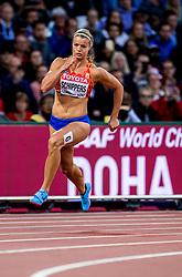 08-08-2017 IAAF World Championships Athletics day 5, London<br /> Dafne Schippers NED loopt een makkelijke 200 meter.