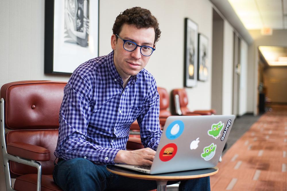 Luis von Ahn, co-founder and CEO of Duolingo