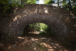 Carriage road bridge, Acadia National Park, Maine, United States of America