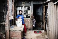 Zimbabwe, Anjela Bed (44) vandforsyningen har lukket for vandet.