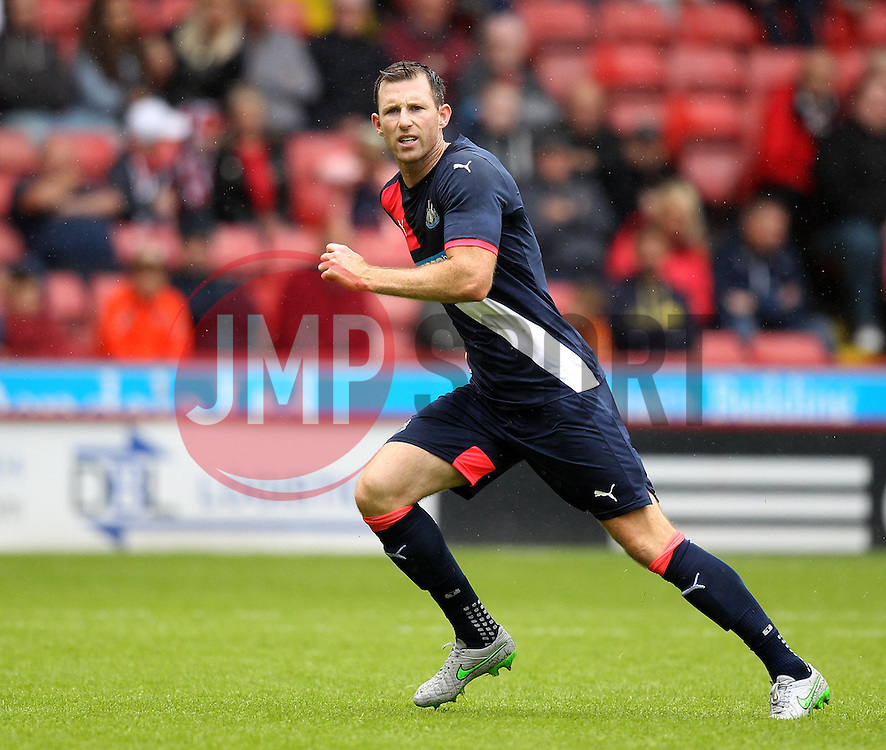 Newcastle United's Mike Williamson - Mandatory by-line: Robbie Stephenson/JMP - 26/07/2015 - SPORT - FOOTBALL - Sheffield,England - Bramall Lane - Sheffield United v Newcastle United - Pre-Season Friendly
