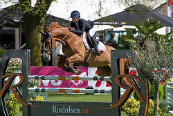 Bongers Lisa, (NED), Donbalian<br /> Nederlands kampioenschap springen - Mierlo 2016<br /> © Hippo Foto - Dirk Caremans<br /> 21/04/16