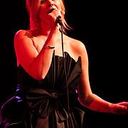 NLD/Huizen/20100917 - South Sea Jazz Huizen 2010, optreden Jazzlike Big Band en zangeres Tineke Scholten