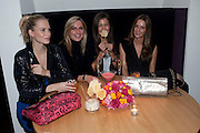 POPPY DELEVIGNE; LEAH SPEAKMAN; AMANDA SHEPPARD; AMANDA CROSSLEY, Launch of Nicky Haslam's book Redeeming Features. Aqua Nueva. 5th floor. 240 Regent St. London W1.  5 November 2009.  *** Local Caption *** -DO NOT ARCHIVE-© Copyright Photograph by Dafydd Jones. 248 Clapham Rd. London SW9 0PZ. Tel 0207 820 0771. www.dafjones.com.<br /> POPPY DELEVIGNE; LEAH SPEAKMAN; AMANDA SHEPPARD; AMANDA CROSSLEY, Launch of Nicky Haslam's book Redeeming Features. Aqua Nueva. 5th floor. 240 Regent St. London W1.  5 November 2009.