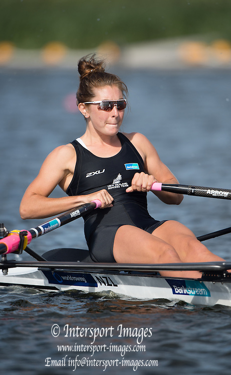 Rotterdam. Netherlands. 2016 NZL LW1X. Zoe MCBRIDE, Non Olympic Regatta. {WRCH2016} at the Willem-Alexander Baan.   Monday  22/08/2016 <br /> <br /> [Mandatory Credit; Peter SPURRIER/Intersport Images]