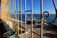 Restaurant in Cabot Cruz, Granma, Cuba.
