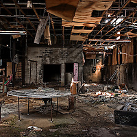A derelict room