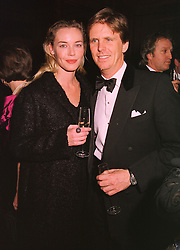 MR MOGENS THOLSTRUP and MISS CONNIE NIELSON, at a fashion show in London on 17th November 1998.MMC 13