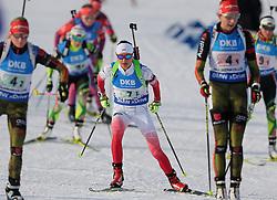 11.03.2016, Holmenkollen, Oslo, NOR, IBU Weltmeisterschaft Biathlon, Oslo, 4x6 Km Staffel, Damen, im Bild Monika Hojnisz (POL) // during 4x6 km women relay of the IBU World Championships, Oslo 2016 at the Holmenkollen in Oslo, Norway on 2016/03/11. EXPA Pictures © 2016, PhotoCredit: EXPA/ Newspix/ Tomasz Jastrzebowski<br /> <br /> *****ATTENTION - for AUT, SLO, CRO, SRB, BIH, MAZ, TUR, SUI, SWE only*****