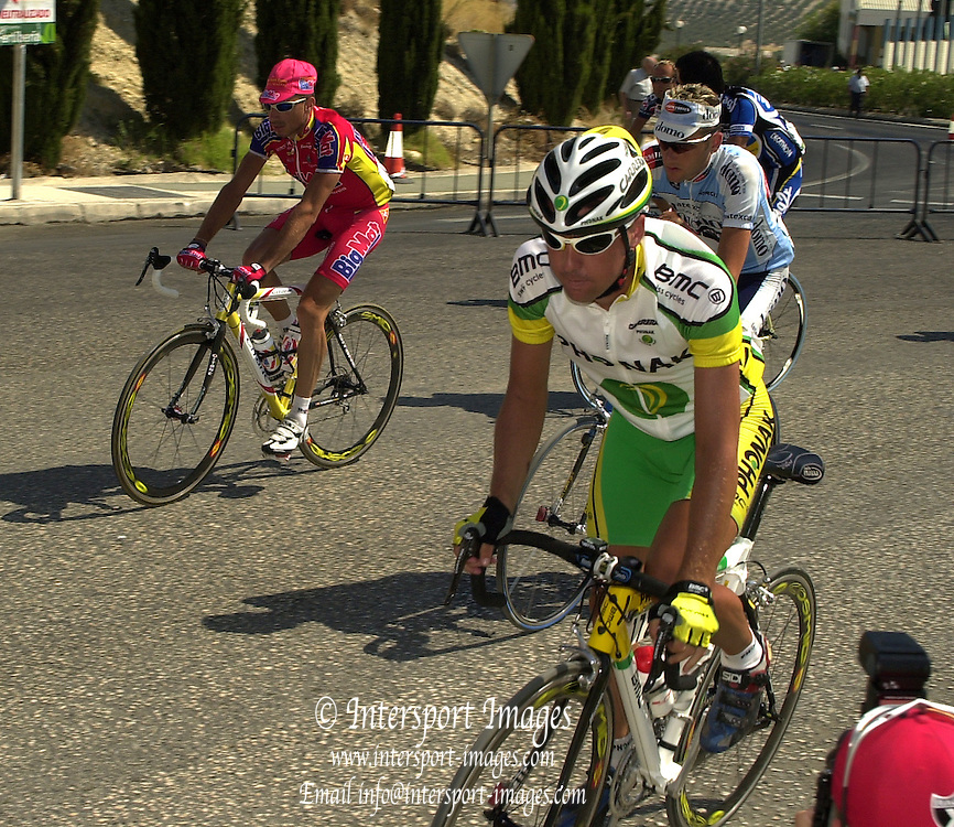 2002 Tour of Spain - SPAIN. [Vuelta Ciclista a España], Stage 7.  Jaen to Malaga .Start Stage 7.© Photo Peter /Intersport Images.