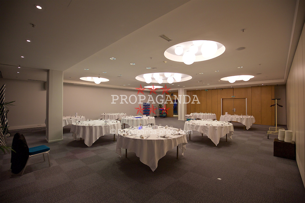 TOULOUSE, FRANCE - Monday, January 25, 2016: Icare room at the Radisson Blu Hotel Toulouse Airport during a Wales inspection visit ahead of the UEFA Euro 2016 Tournament. (Pic by David Rawcliffe/Propaganda)