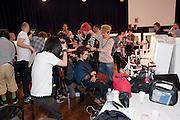 Julian Macdonald fashion show. Banqueting House. London. 19 September 2010. -DO NOT ARCHIVE-© Copyright Photograph by Dafydd Jones. 248 Clapham Rd. London SW9 0PZ. Tel 0207 820 0771. www.dafjones.com.