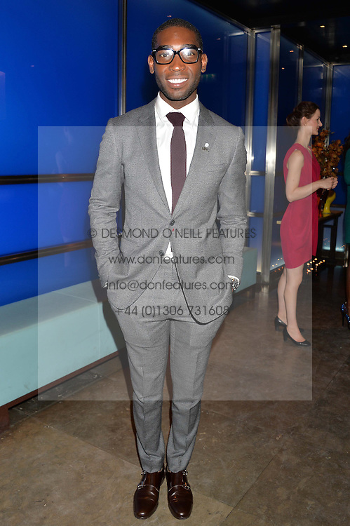 TINIE TEMPAH at a dinner hosted by Anya Hindmarch and Dylan Jones to celebrate the end London Collections: Men 2014 held at Hakkasan, 8 Hanway Place, London on 8th January 2014.