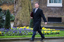 © Licensed to London News Pictures. 12/03/2018. London, UK. Attorney General Jeremy Wright on Downing Street ahead of a National Security Council meeting where the Salisbury spy incident is to be discussed. Photo credit: Rob Pinney/LNP