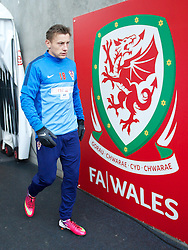 SWANSEA, WALES - Monday, March 25, 2013: Croatia's Ivica Olic during a training session at the Liberty Stadium ahead of the 2014 FIFA World Cup Brazil Qualifying Group A match against Wales. (Pic by David Rawcliffe/Propaganda)