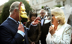 File photo dated 09/07/13 of the Prince of Wales and Duchess of Cornwall hosting a reception for the Elephant Family, a charity working to save the Asian Elephant from extinction in the wild.