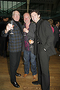 ronald Hynd, Gary Harris and Gary Avis, 75 Anniversary celebration fort the Royal Ballet. Royal Opera House. Covent garfden. London. 23 April 2006. ONE TIME USE ONLY - DO NOT ARCHIVE  © Copyright Photograph by Dafydd Jones 66 Stockwell Park Rd. London SW9 0DA Tel 020 7733 0108 www.dafjones.com