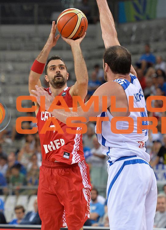 DESCRIZIONE: Torino FIBA Olympic Qualifying Tournament Grecia Croazia<br /> GIOCATORE: Simon Krunoslav<br /> CATEGORIA: CROATIA CROAZIA<br /> GARA: FIBA Olympic Qualifying Tournament Grecia-Croazia<br /> DATA: 08/07/2016<br /> AUTORE: Agenzia Ciamillo-Castoria