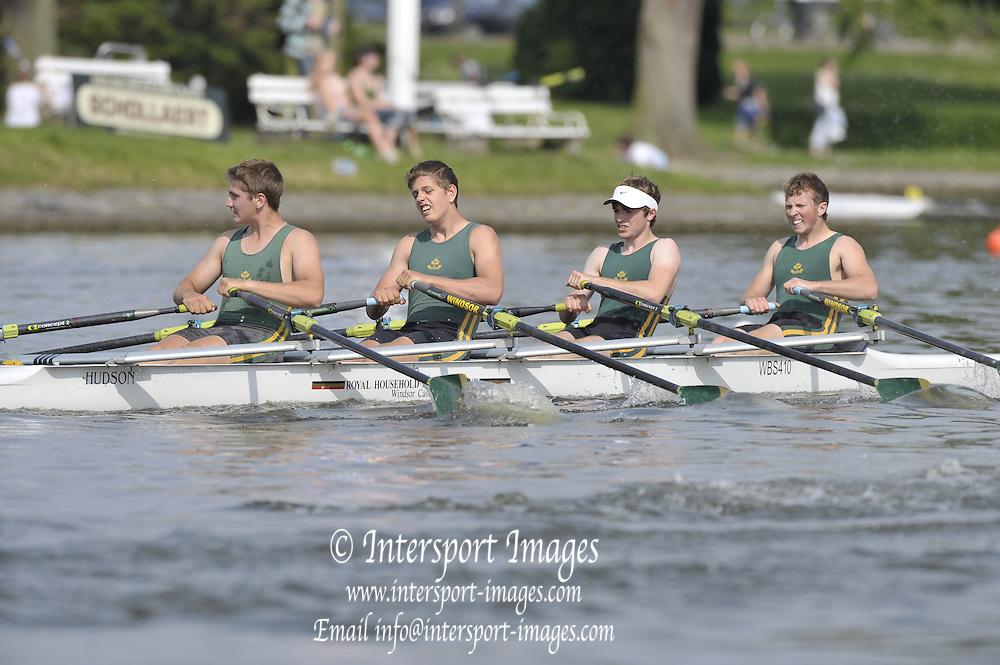 Gent, BELGIUM, MSB 4X, Windsor Boys School,  final at the  International Belgian Rowing Championships, Sunday 10/05/2009, [Mandatory Credit. Peter Spurrier/Intersport Images]