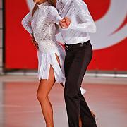 NLD/Utrecht/20110126 - Perspresentatie Sterren Dansen op het IJs 2011, Michael Boogerd en Darya Nucci