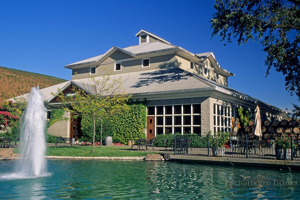Kunde Estates, near Kenwood, Sonoma Valley, Sonoma County, California