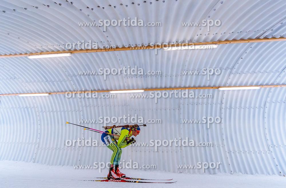 17.02.2017, Biathlonarena, Hochfilzen, AUT, IBU Weltmeisterschaften Biathlon, Hochfilzen 2017, Staffel Damen, im Bild Mona Brorsson (SWE) // Mona Brorsson of Sweden // during Womens Relay of the IBU Biathlon World Championships at the Biathlonarena in Hochfilzen, Austria on 2017/02/17. EXPA Pictures © 2017, PhotoCredit: EXPA/ JFK