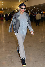 MAY 09 2014 Rita Ora arrives at Heathrow Airport from Germany