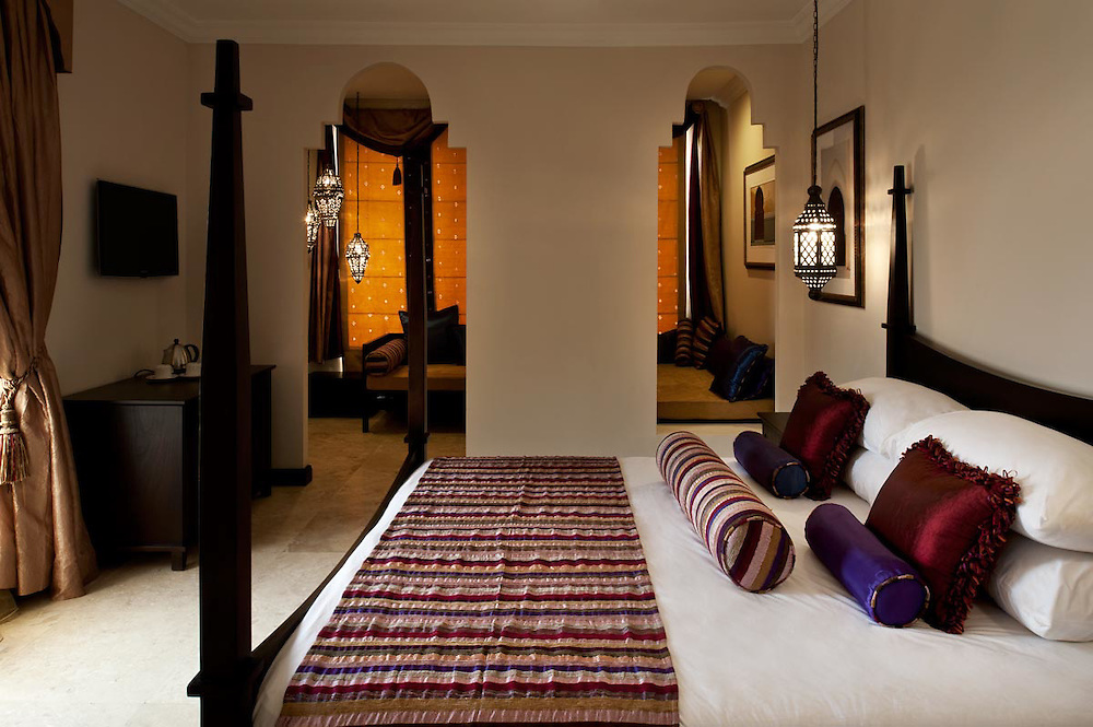 Interiors of room Marrakesh at Villa Monticello, Accra, Ghana