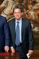 2013/05/03 Roma,  giuramento dei viceministri e dei sottosegretari. Nella foto Luigi Casero..Rome, oath of deputy ministers and undersecretaries. In the picture Luigi Casero - © PIERPAOLO SCAVUZZO