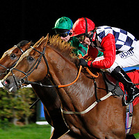 Spice Fair and Jimmy Fortune winning the 7.30 race
