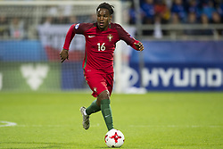 June 20, 2017 - Gdynia, Poland - Renato Sanches of Portugal runs with the ball during the UEFA European Under-21 Championship 2017  Group B match between Portugal and Spain at Gdynia Stadium in Gdynia, Poland on June 20, 2017  (Credit Image: © Andrew Surma/NurPhoto via ZUMA Press)